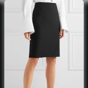 Theory Stretch Wool Pencil Skirt. Size 2